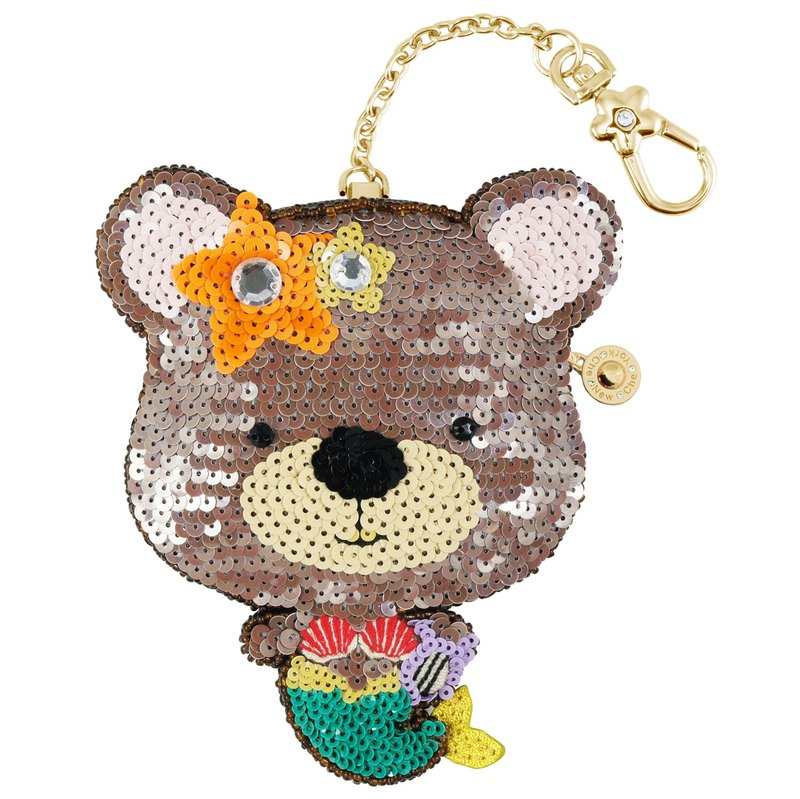 Mermaid the Bear Coin Bag