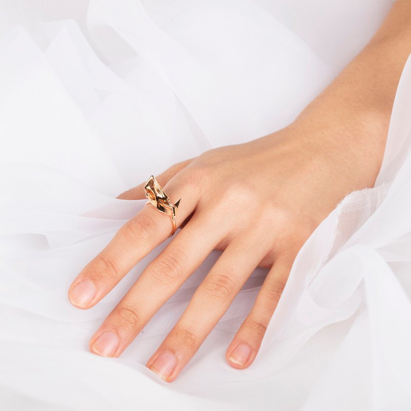 Flowing Cloth Ring | Clothy Series