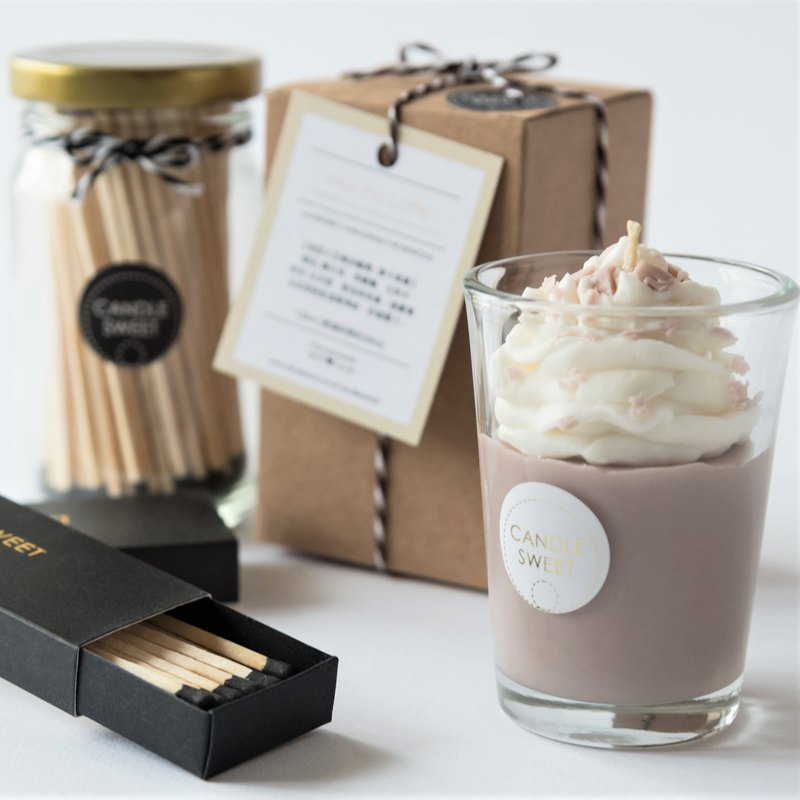 Customized value combination candle lengthened matches (1 can + 2 boxes) - warm heart limited gift group