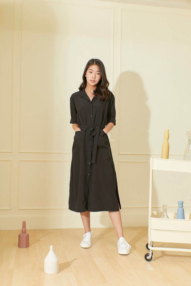 Wander shirt dress