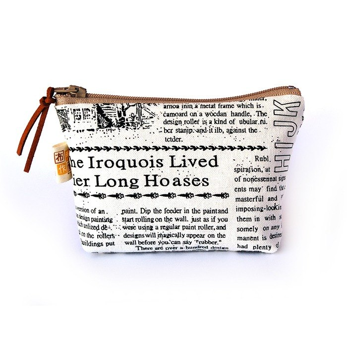 Cloth newspaper storage bag