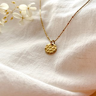 Little cookie- Brass necklace