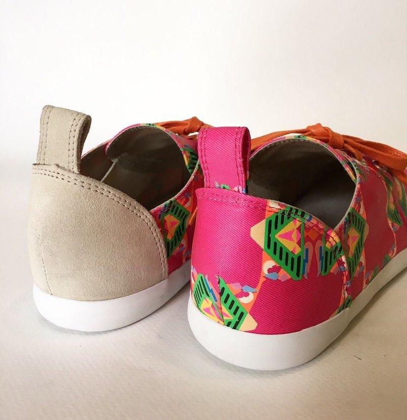 矩形鑽款 / 平底樂福鞋 / 帆布鞋