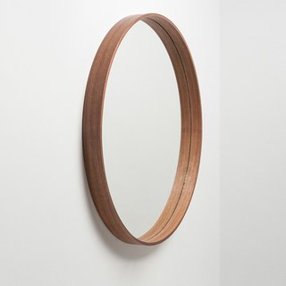 The Mirror Wooden Mirror L │ Walnut
