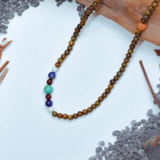 Suddenly (108 Bracelets / Rosary Series) Green Tan - Health