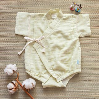 [My little star] hand man chewing pear milk marshmallow organic cotton double yarn is flat and uniform package fart clothing