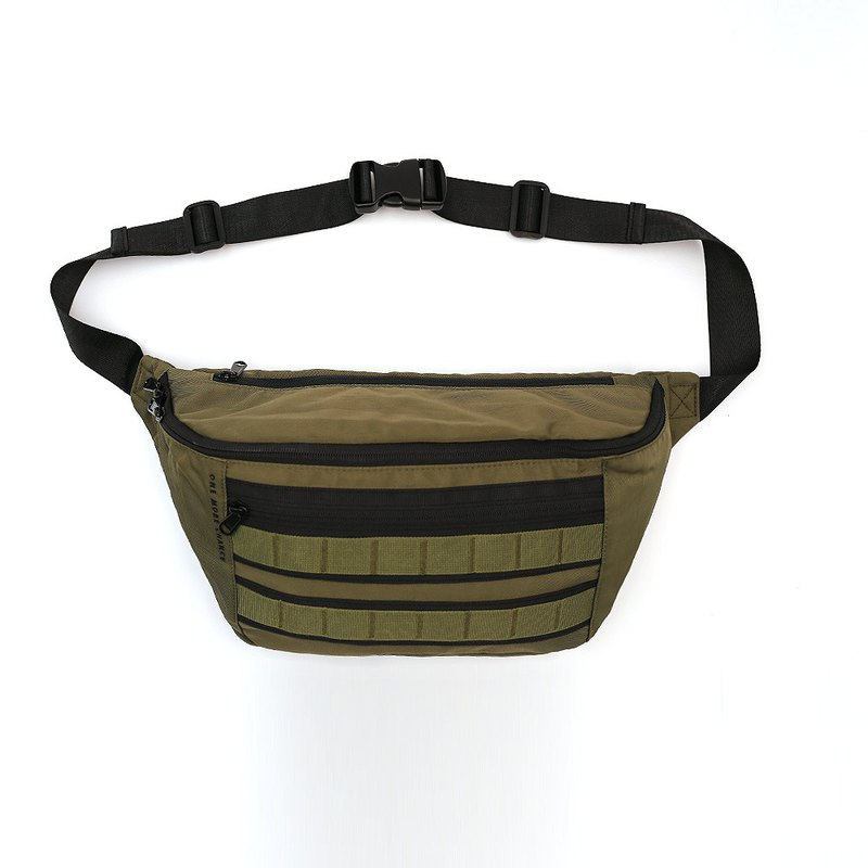 "RITE F01 MA1 Large Waist Bag-Green for 11 ""IPAD"
