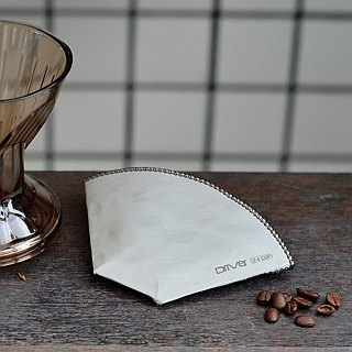 Driver <Scallop> Stainless Steel Environmental Filter Paper 2-4cup