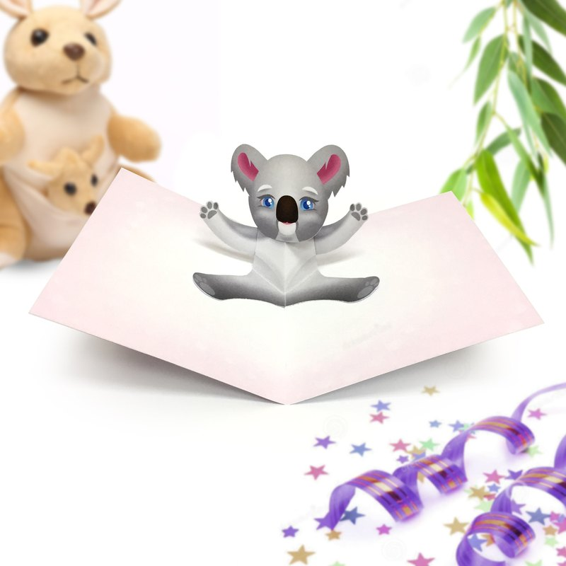 Koala Birthday Card | Koala Card | Birthday Card