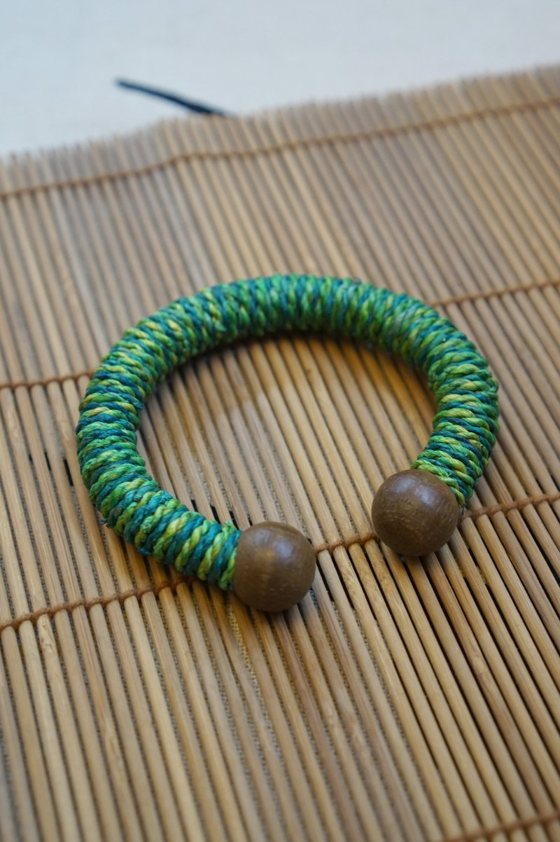 EARTH.er │● Natural Banana Trees Fiber Bracelet #S-6 ● │