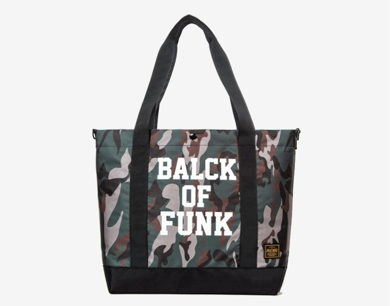 Military camouflage wind tote bag