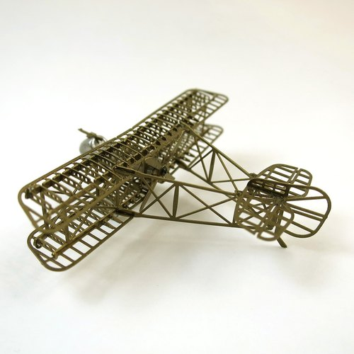 SUSS-Japan imported Aerobase Airco DH2 imported high-quality brass World War I British fighter model - Free Shipping