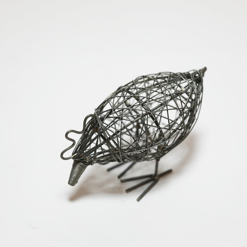 Wire Animal - Chick - Fair Trade