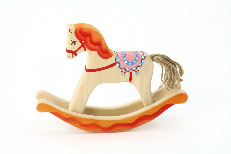 Russian Building Blocks - Beech Fairy - Shake Series: Saddle Horse - Christmas Exchange