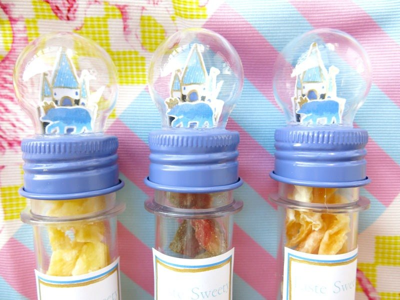 Happiness Fruit Shop - Fairy Bear Prince - Glass Balls Colorful Fruits (Single)