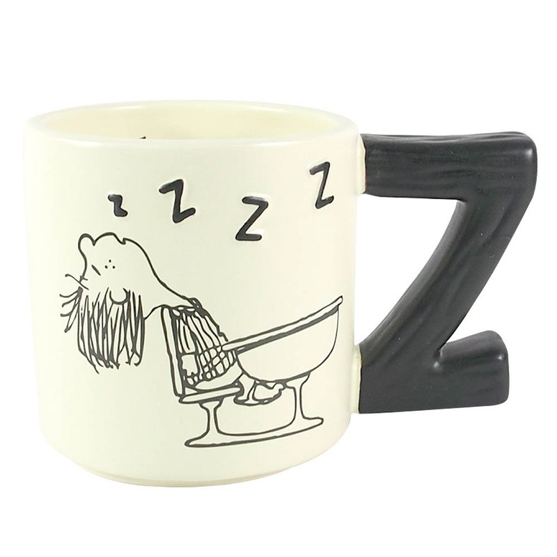 Snoopy Mug - Petty Asleep (Hallmark-Peanuts Snoopy Mug)