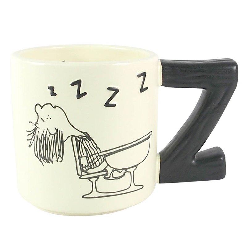Snoopy馬克杯-佩蒂睡著了【Hallmark-Peanuts史努比 馬克杯】