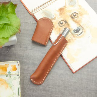 Leather Pen Holder / Pen Case / Genuine Leather Pen Holder / Pen Sleeve