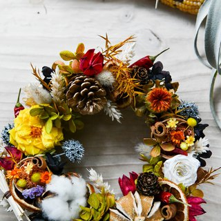 Autumn Harvest Wreath│秋天豐收花圈