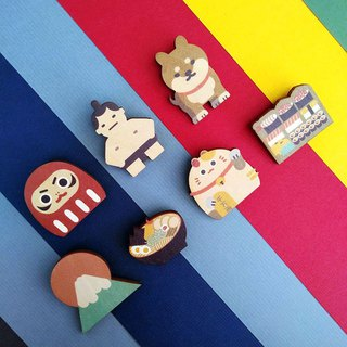 Original Japanese pin - Object series