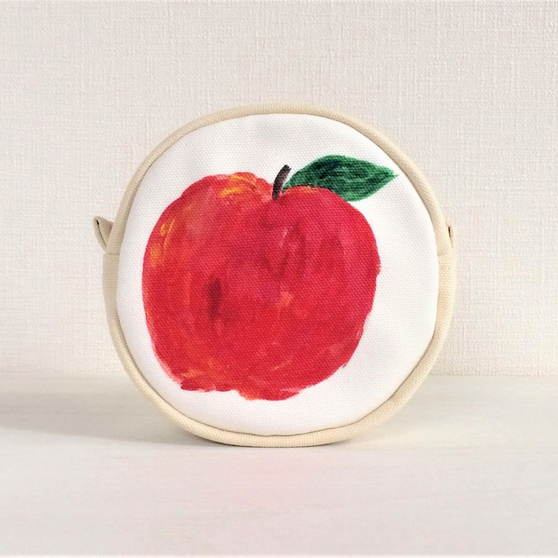 Fruit Garden Circle Pouch Apple