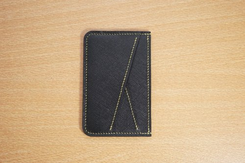 Guillaume scratch card holder leather business card holder credit card holder