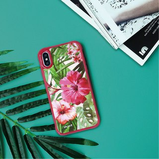 Tropic Flowers iphone case for i7,i7plus,i8,i8plus, iX,iXS,iXR,iX max gift