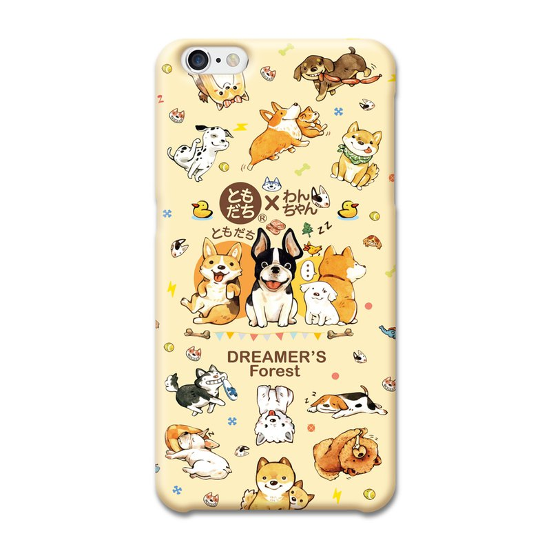 (Spot) afu illustration mobile phone case - iPhone6 ​​/ 6s - 100 kinds of dog life