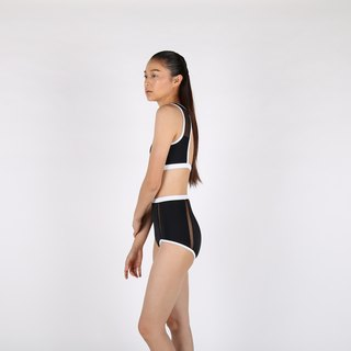 Mesh Tank set - Black / swimwear / M