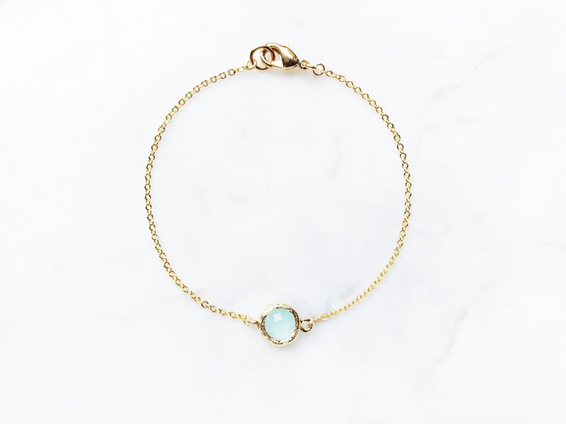 ::Girls Series:: Lake Green Bracelets