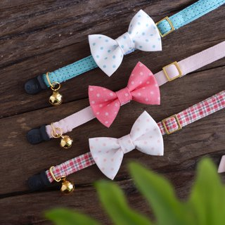 Cat Collar Collar Polka Dot Dot Set