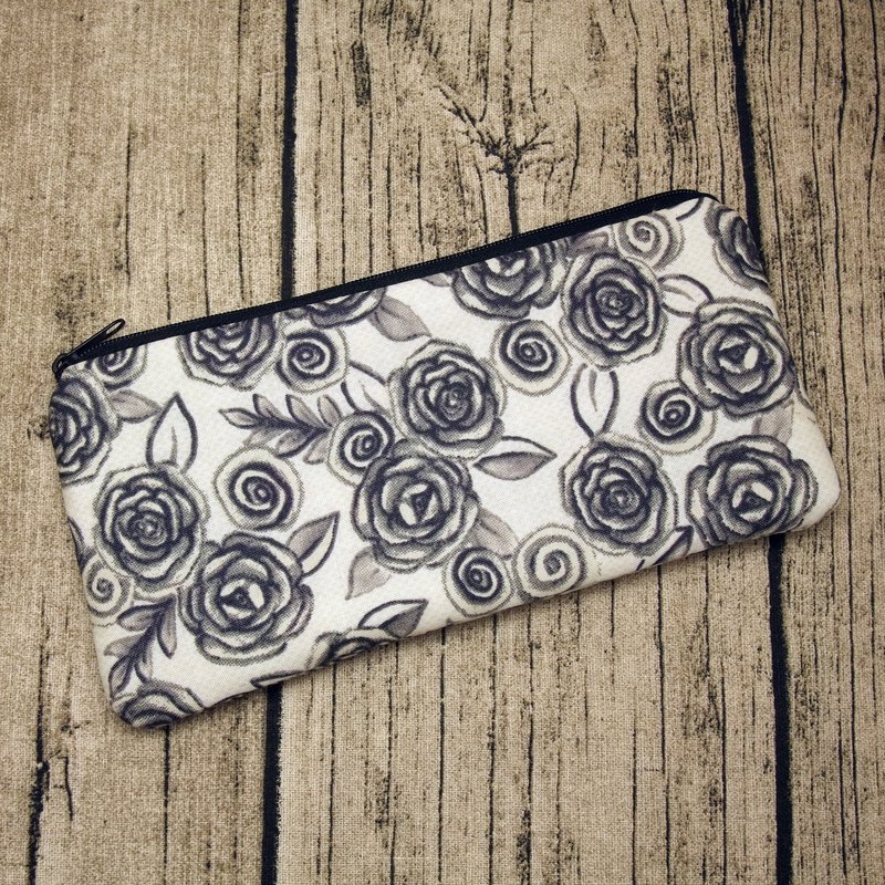 Large Zipper Pouch, Pencil Pouch, Gadget Bag, Cosmetic Bag (ZL-18)