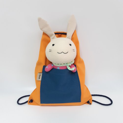 Children's doll backpack (small) / Children's backpack / bundle backpack / doll + bag / detachable doll
