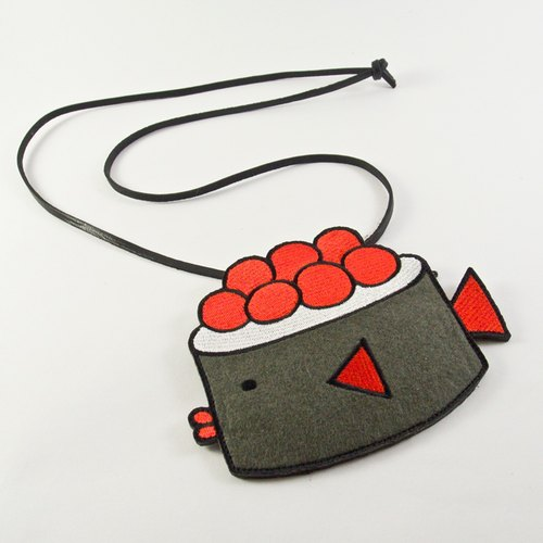 Card Holder - Sushi Fish