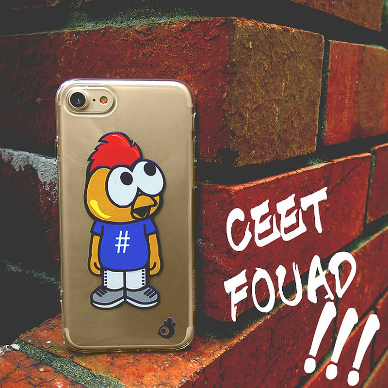 Ceet Fouad soft transparent case (iphone7 / 8) CTIPH7-CF-11