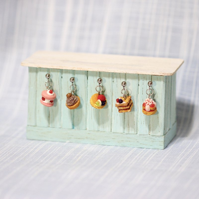 Miniature French Dessert Earring