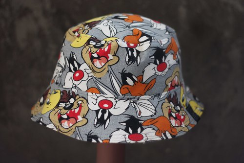 Cartoon Cui Di bird double-sided fisherman hat