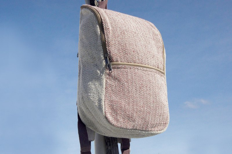 Christmas gift Valentine's Day gift limited edition a natural dye cotton backpack / shoulder bag / mountaineering bag / travel backpack / computer bag / hand bag -