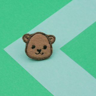Brown Bear Iron Patch