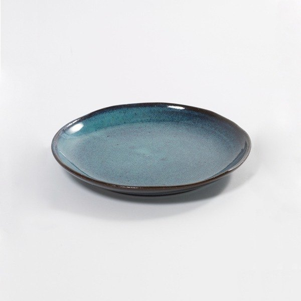 [Belgium SERAX] Aqua Snack Plate - Blue Sea Color