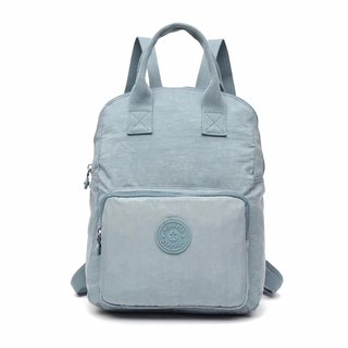 Waterproof light blue backpack bag / laptop bag / computer bag / shoulder bag - multi-color optional #8554