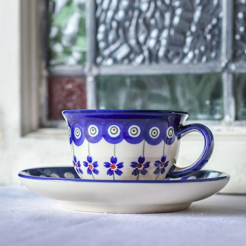 """Polish pottery"" cup set 110ml"