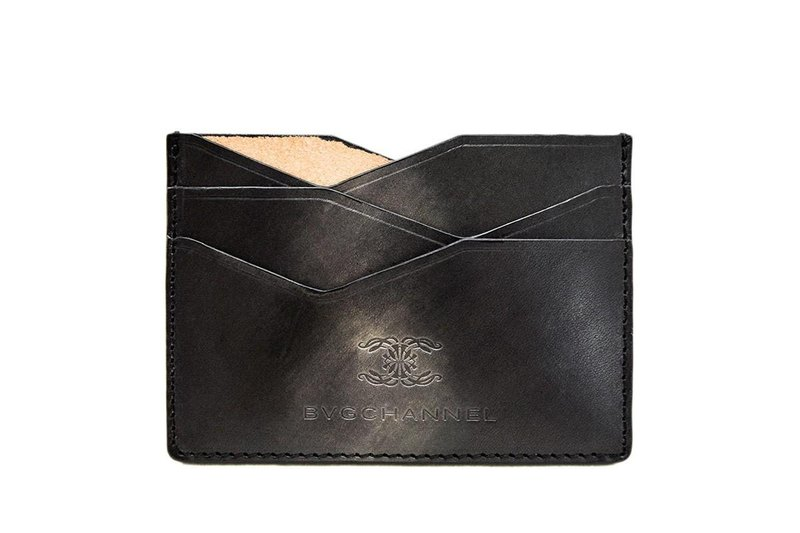 ACROMO Black Flat Card Holder