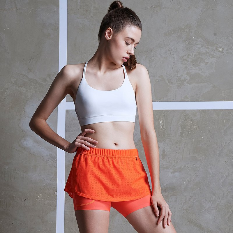 [MACACA] Lightweight Tennis Short Skirt - AQA5132