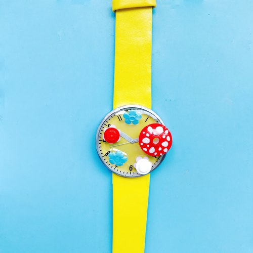 LEGO -  Watch - Handmade - National -  hand-weavedl -  Watch - childhood - memories -