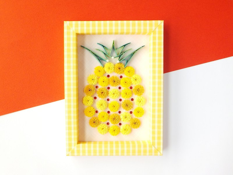 Handmade decorations-pineapple