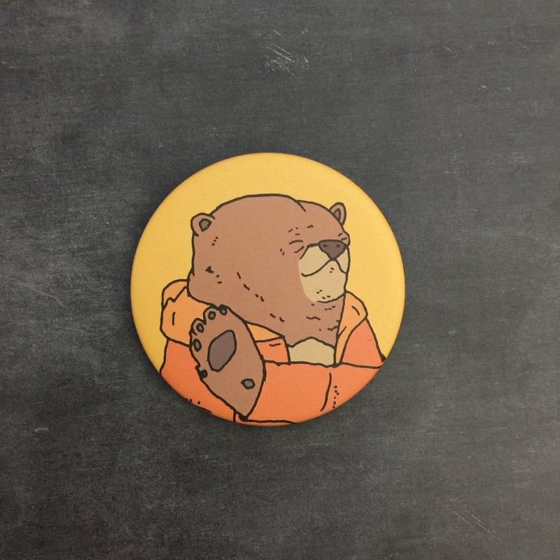 ㄎㄧㄤ熊(黃熊)胸章徽章/別針