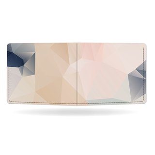 PASTELL Pappwallet Leather wallet / short clip / wallet / Tyvek / Made in Germany