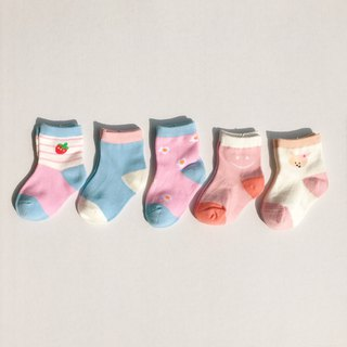 Pastel Socks Set of 5