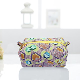 Jacquard woven bag butterfly kaleidoscope yellow cake Videos